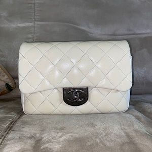 Chanel double flap carry bag